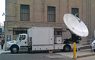 179  High Def C Band Uplink Truck